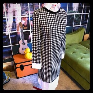 NWOT Houndstooth dress and mens shirt attachments